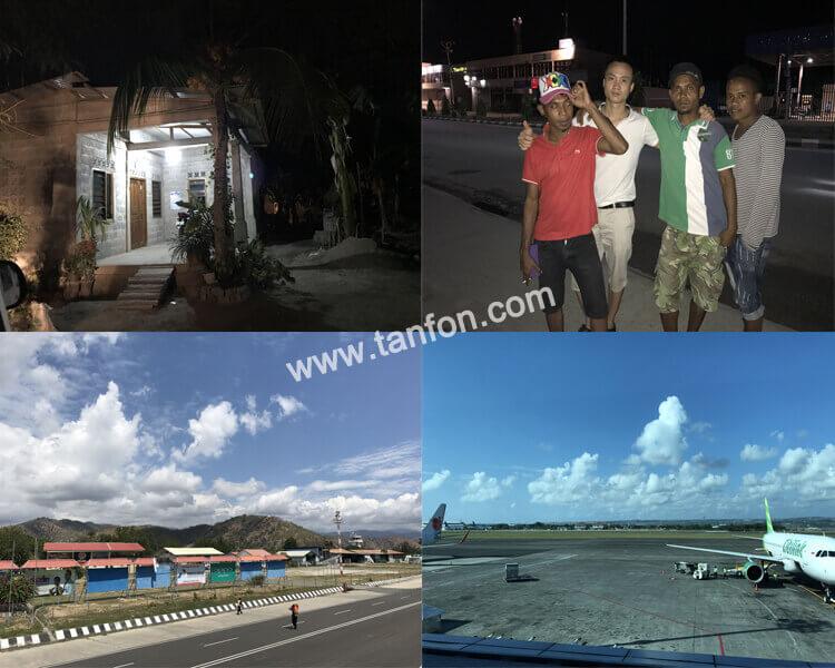 12KW solar system installation in Timor-leste