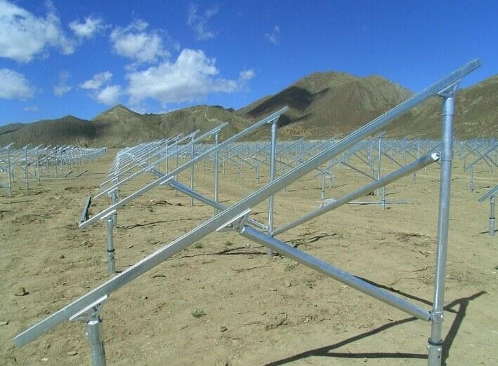 solar panel mounting