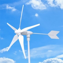 horizontal wind turbine 300W small wind generator for home