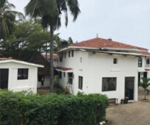 kenya Dinai Hotel 2sets 200KW solar power project inspection