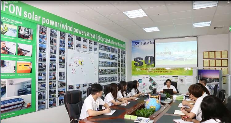 China Solar solar energy company Manufacturer team