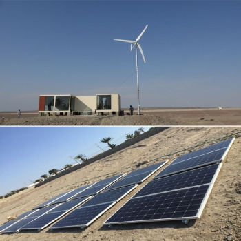 solar wind hybrid system, solar and wind energy, residential wind