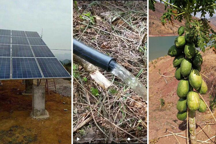 irrigation solar pump system