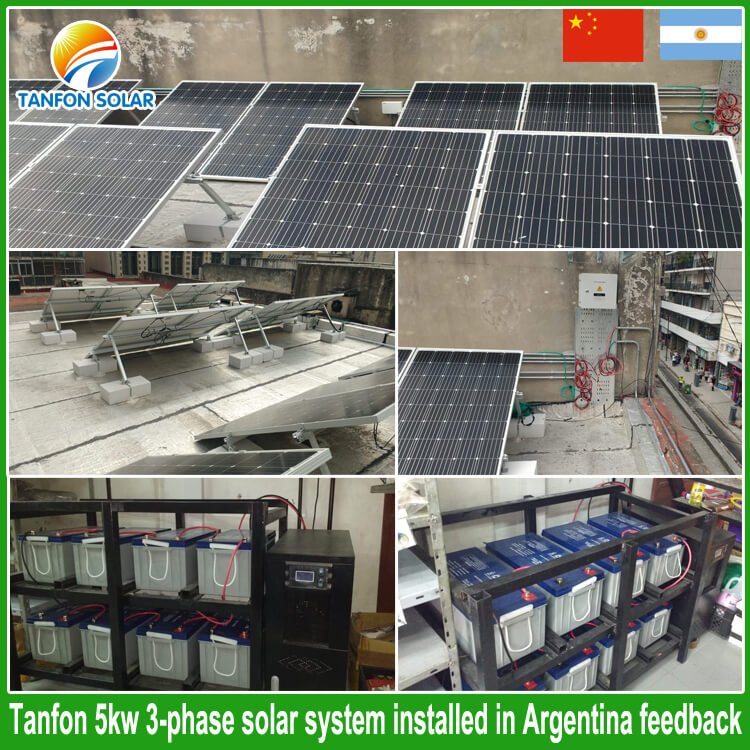 three phase inverter solar system