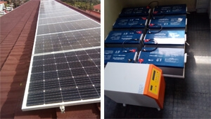 5KW Off Grid Solar Power System for office use