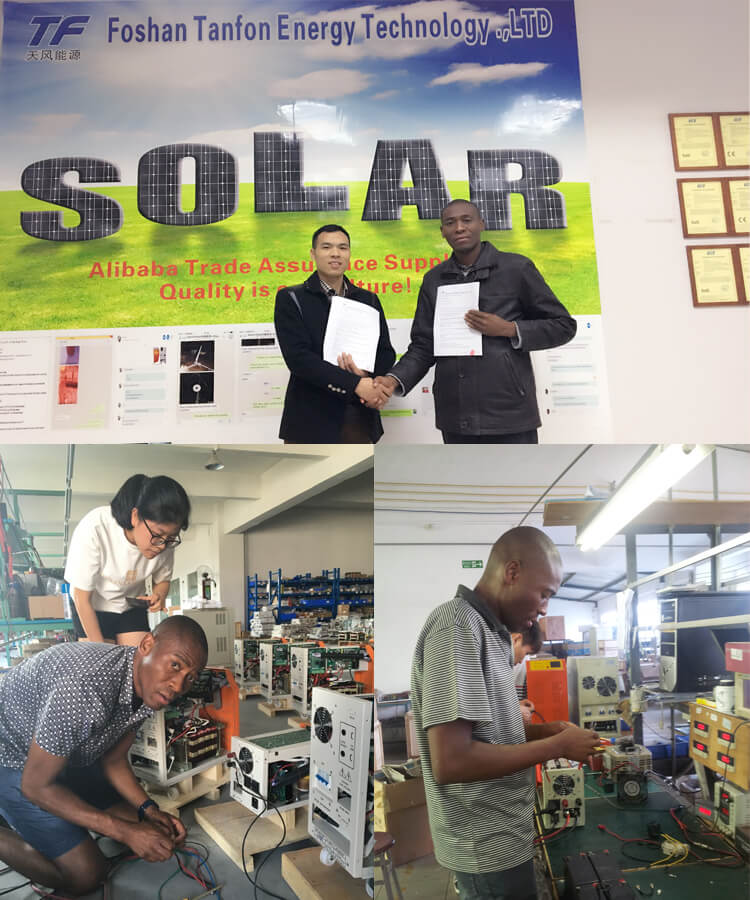 Solar energy system factory