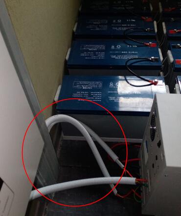 solar installation inverter battery