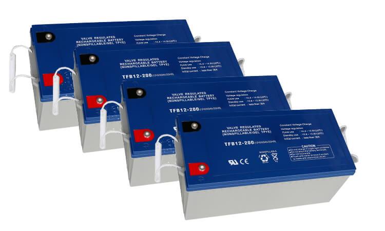 solar system installation battery