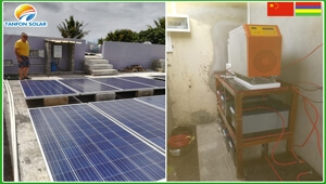 how does 5kw residential solar energy work