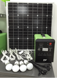 Solar battery charger generator