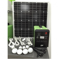 Solar battery charger generator DC system output 100W