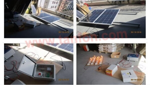 Guyana Solar power kits and solar power led lights order factory inspection