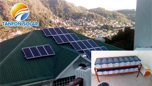 TANFON 5kw solar system home use in Saint Vincent