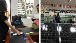 Why old customer introduce their friend to buy TANFON solar products?