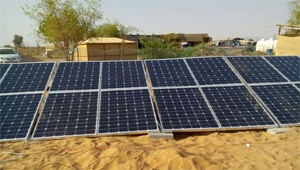Dubai 6kw solar system installation with good service