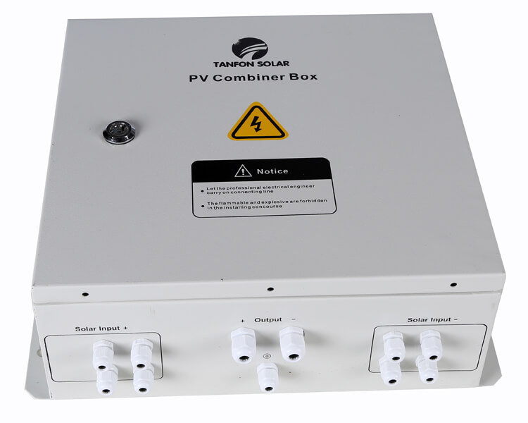 4 inputs PV combiner