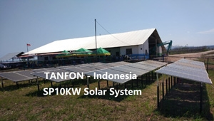10KW solar power system Installation support in Indonesia