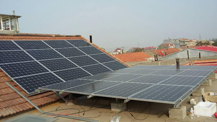 on and off grid solar system