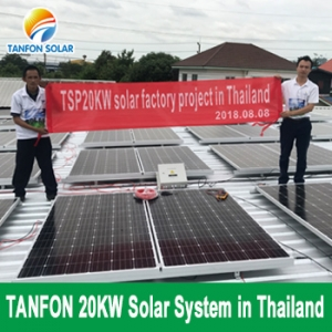 TANFON 20KW Solar Power System 3 Phase for Factory Use