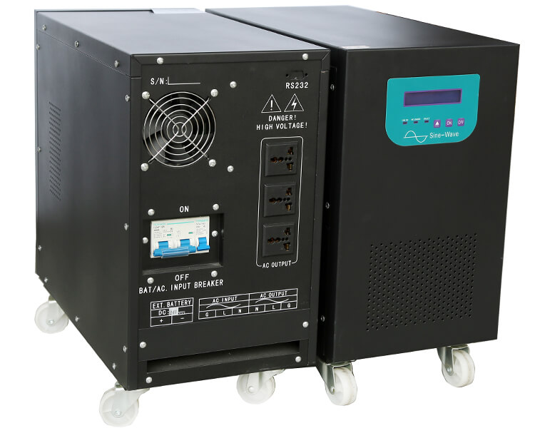 double phase inverter dual voltage output inverter