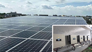 50kw on grid solar power system for factory air pump in Thailand