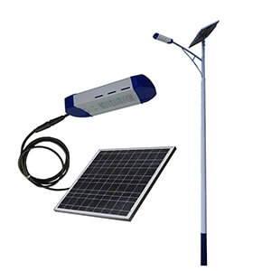 solar street lighting system 60w solar powered led light price list