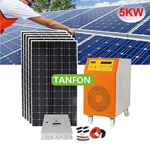 Complete off grid 5000 watt solar generator system