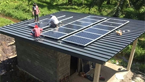 How to use the 5kw home solar system
