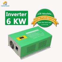 6kva inverter off grid 6000 watt pure sine wave solar power inverter