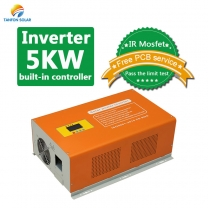 Pure Sine Wave 5000 Watt Solar Inverter with Built-in Controller