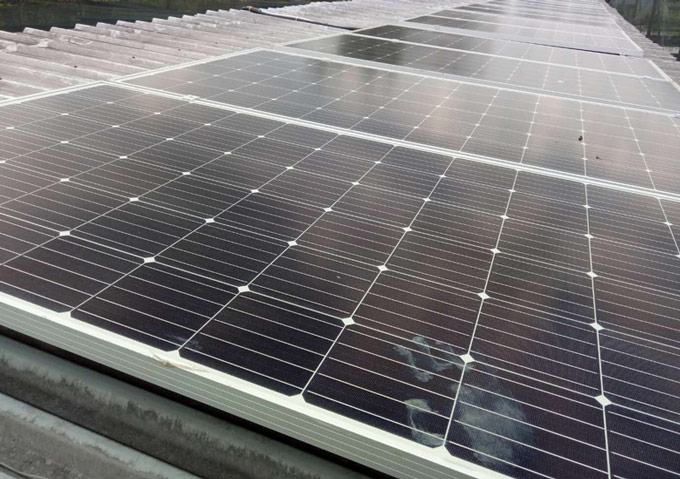 Tanfon 5kW solar system in Singapore
