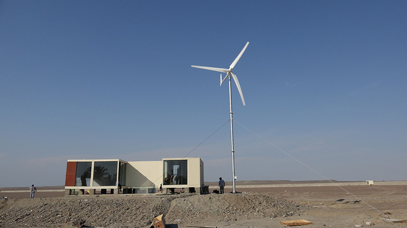 Wind electric power generation