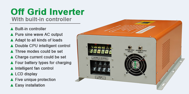 off grid solar inverter 1000w
