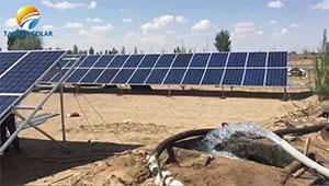 Kenya customer purchase Tanfon solar panel water pump system