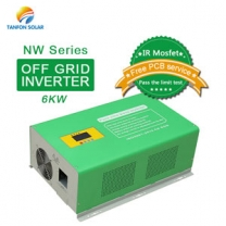 6kva inverter off grid 6000 watt pure sine wave solar power inverter