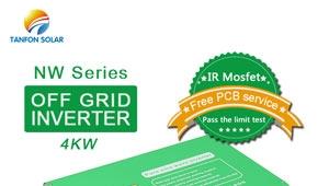 Off grid pure sine wave 4kw solar inverter