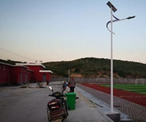 The solar street light makes life better
