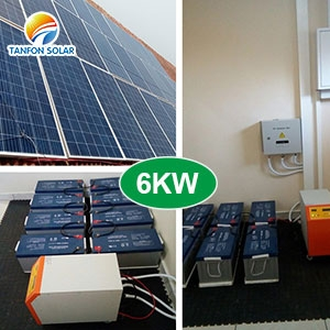 TANFON 6KW Solar Power System in South Africa