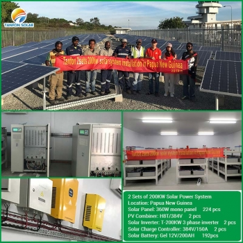 Off Grid 300 KW Solar Plant