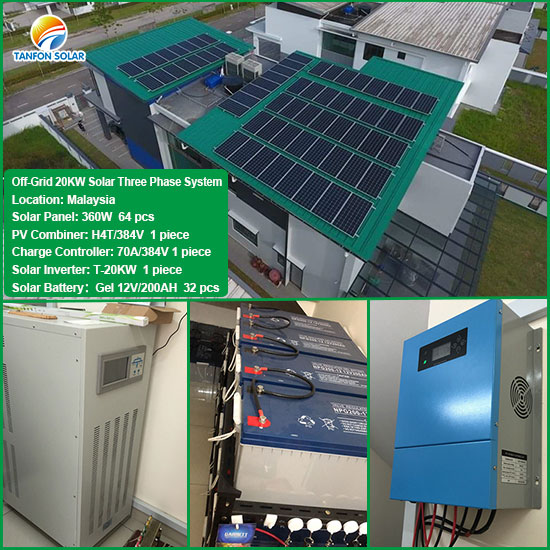 20kw solar system with batteries