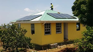 Tanfon solar system is favored by The Commonwealth of Dominica customers