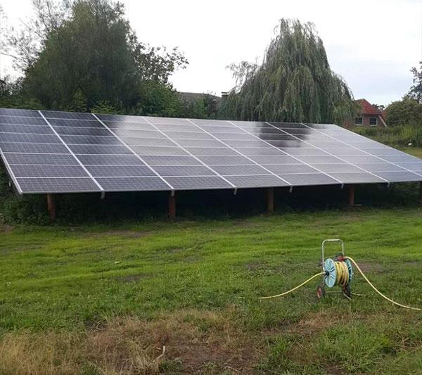 20kW solar system forrural irrigation