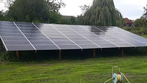 Tanfon three-phase 20kw inverter solar system for rural irrigation