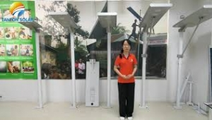 Advantages of Tanfon solar street lights