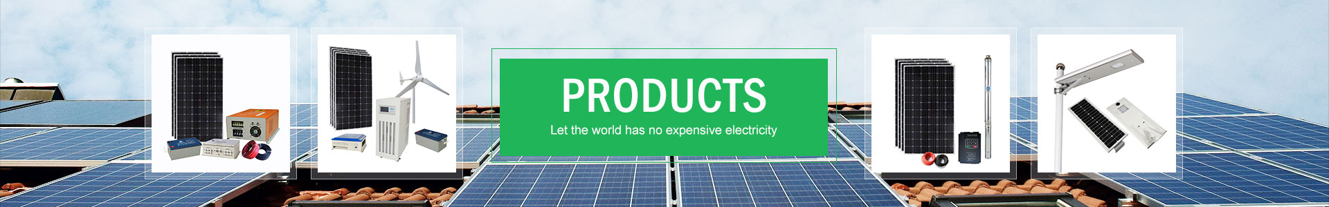 Other solar products