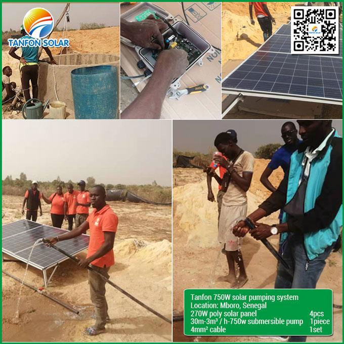 750W Solar Pumping System