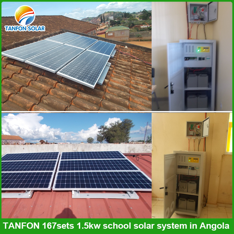 solar power system for school project