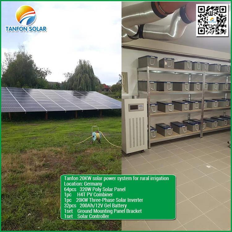 20kw solar panel system