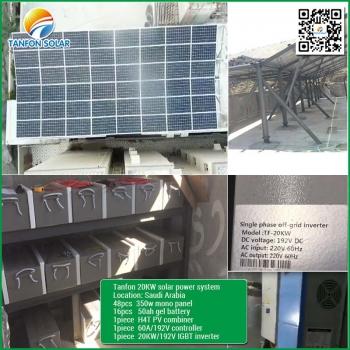 20kw solar project in Saudi Arabia