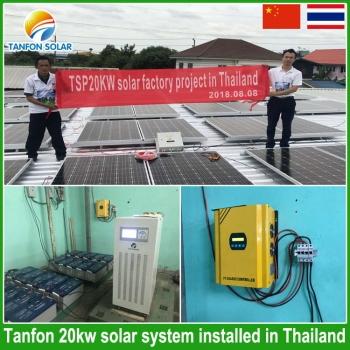 20kw solar system in thailand